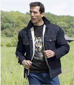 Джинсовая Куртка с Подкладкой из Шерпы preview3