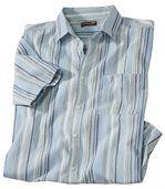 Рубашка из Крепона в Полоску preview2