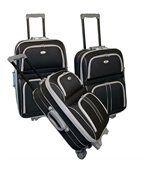 Kinston set de 3 valises trolley 2 roues silve... preview1