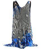 Robe Plissée Asymétrique  - COBRA - preview1