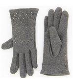 Gants femme hiver polaire gris BASILE preview2