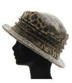 chapeau cloche laine bouillie BASTIEN gris preview4