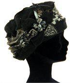 Bonnet femme hiver laine ARNOLD noir preview2