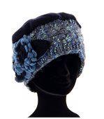 Bonnet femme hiver laine MATHIEU bleu preview5