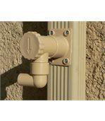 Récupérateur d'eau de pluie sable pour gouttière carrée ou rectangulaire preview2