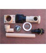 Récupérateur d'eau de pluie sable pour gouttière carrée ou rectangulaire preview3