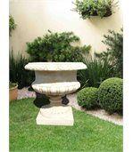 Pot jardin rond en pierre reconstituée preview2