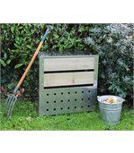 Silo à compost acier et bois preview2