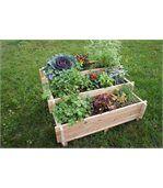 Escalier à légumes avec feutre mélèze brut FSC 100% preview2