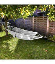 Hamac simple parachute gris