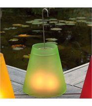 Lampe photophore verte