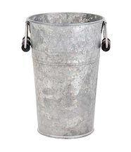 Vase en zinc