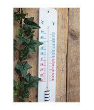 Thermomètre Géant en Métal