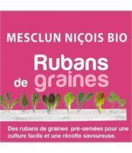 Ruban de graines de mesclun niçois bio