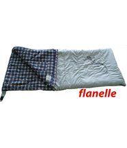 CONDOR 250XLF - Sac de couchage, couverture FLANELLE. 12°C / -7°C