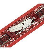 Bracelet femme cuir rose original incrusté daphnee 1218