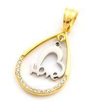 Pendentif coeur femme acier daphnee 545
