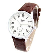 Montre Homme Cuir Marron WAVE 25