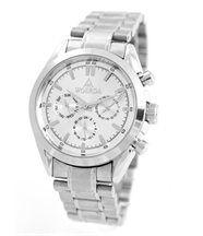 Magnifique montre automatique homme bracelet acier woerda 1206