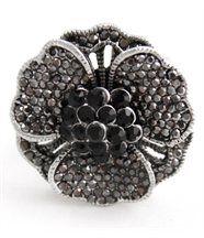 Bague Femme Fleur Diamants Cz DAPHNEE 424