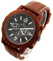 Montre Homme Silicone Chocolat V6 2682