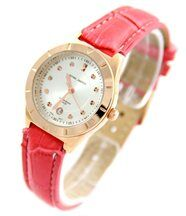 Montre femme bracelet cuir rose jasmin 67