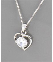 Pendentif Collier pour Femme Coeur DAPHNEE 277