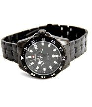 Montre d homme bracelet acier noir naviforce 2436