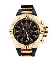 Montre homme bracelet silicone noir 2716