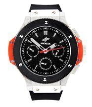 Montre homme luxe bracelet silicone noir speatak 1291