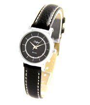 Montre pour Femme Bracelet Cuir Noir ONLYOU 2308