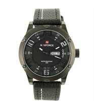Montre Homme Fashion Cuir Noir NAVIFORCE 1363