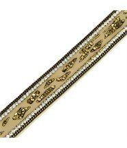 Bracelet Femme en Cuir Marron Incrusté DAPHNEE 1214