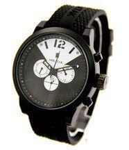 Montre Homme Tendance Bracelet Silicone Noir SPEATAK 2058