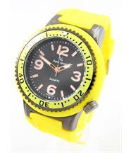 Montre homme silicone jaune v6 2792