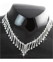 Parure pour femme argenté 300 diamants cz daphnee 190