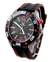 Montre d Homme Silicone Noir V6 2719