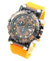Montre pour Homme en Silicone Orange V6 2764