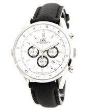 Montre d Homme Chrono Mvt CITIZEN Cuir Noir SPEATAK 207