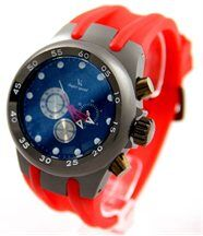 Montre homme silicone rouge v6 2691