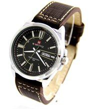 Montre homme cuir chocolat naviforce 794