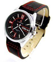 Montre homme fashion cuir noir naviforce 869