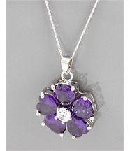 Pendentif collier femme fleur daphnee 142