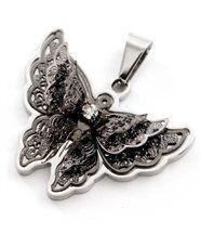 Pendentif Papillon Femme Acier DAPHNEE 549