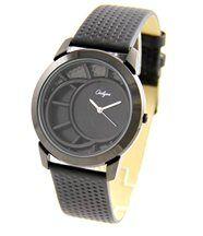 Belle montre femme cuir noir onlyou 1367