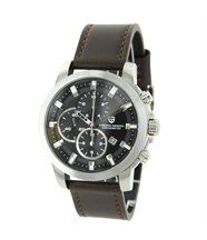 Montre Luxe Homme Chronographe Cuir Chocolat PAGANI 427