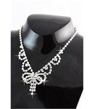Parure pour femme argenté 50 diamants cz daphnee 308