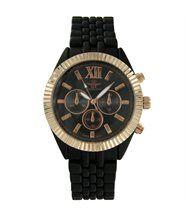 Magnifique montre femme acier argenté avec cristaux cz ename 2597