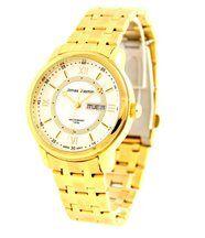 Montre homme avec bracelet acier doré jonas 2545