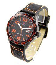 Montre Homme Bracelet Cuir Noir NAVIFORCE 2894